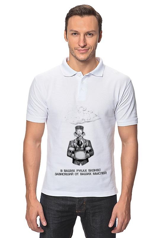 Рубашка Поло Printio Бизнес в ваших руках! virtue мужская рубашка бизнес стиль