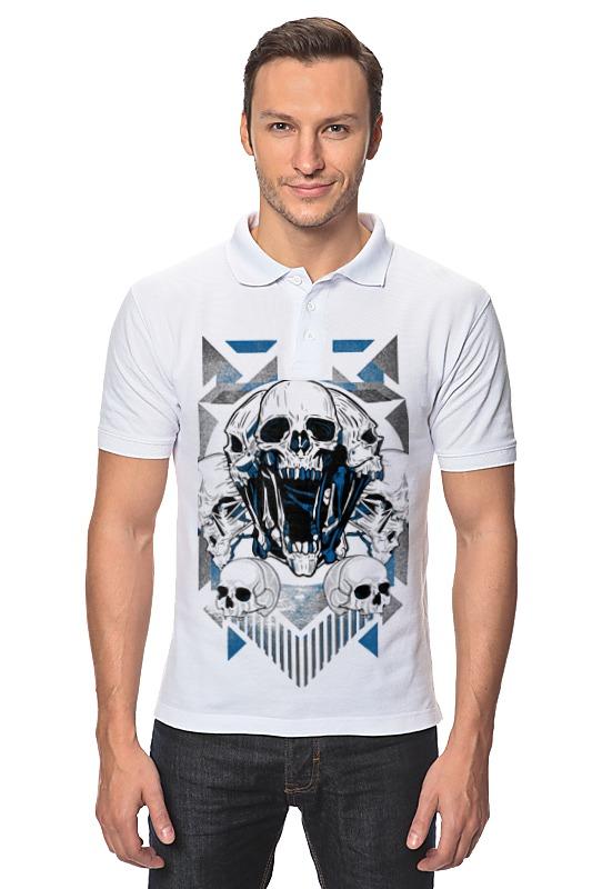 Рубашка Поло Printio Skull поло print bar satan skull