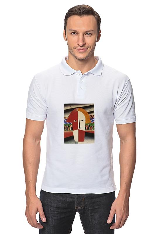 Рубашка Поло Printio Голова крестьянина (казимир малевич) чехол для samsung galaxy s5 printio голова крестьянина казимир малевич