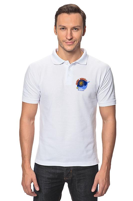 Рубашка Поло Printio Море зовёт!