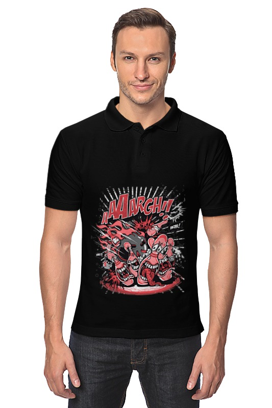 Рубашка Поло Printio Зубастики цветной тм натюрморт в розовых тонах