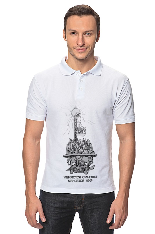 Рубашка Поло Printio Новые идеи! рубашка поло printio carstar