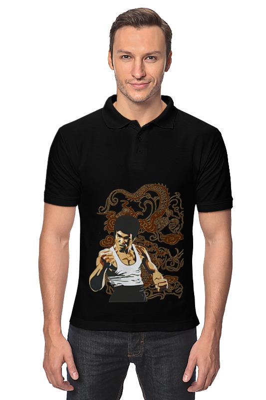 Рубашка Поло Printio Брюс ли перчатки для восточных единоборств в донецке
