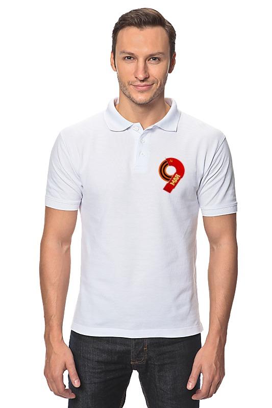 Рубашка Поло Printio День победы
