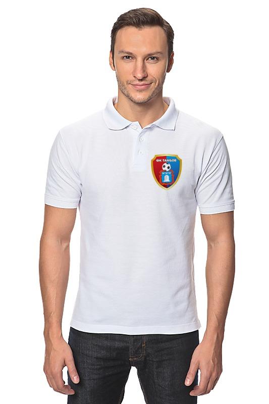 Рубашка Поло Printio Фк тамбов пазлы crystal puzzle 3d головоломка вулкан 40 деталей