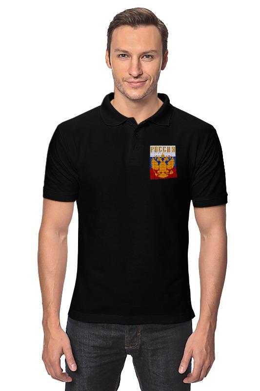 Рубашка Поло Printio Герб россии