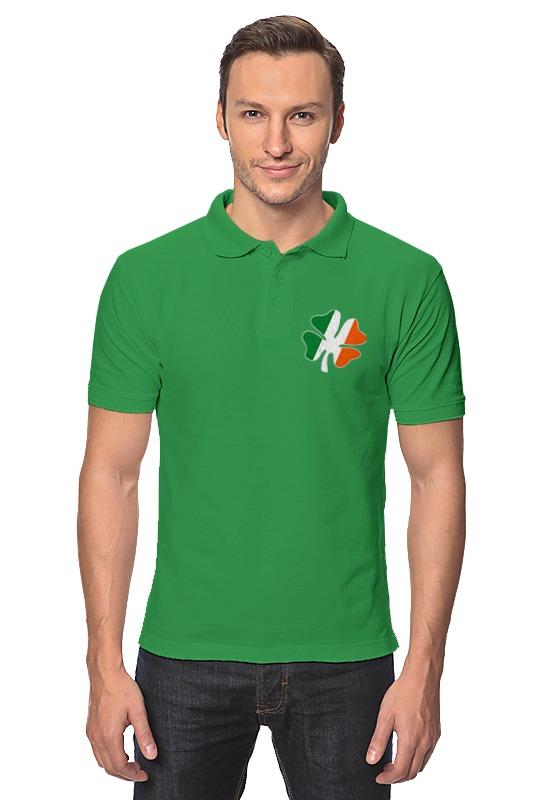 Рубашка Поло Printio Ирландский четырехлистный клевер