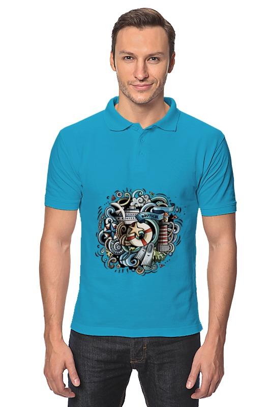 Рубашка Поло Printio Морское отсутствует морское наследие 2 2013