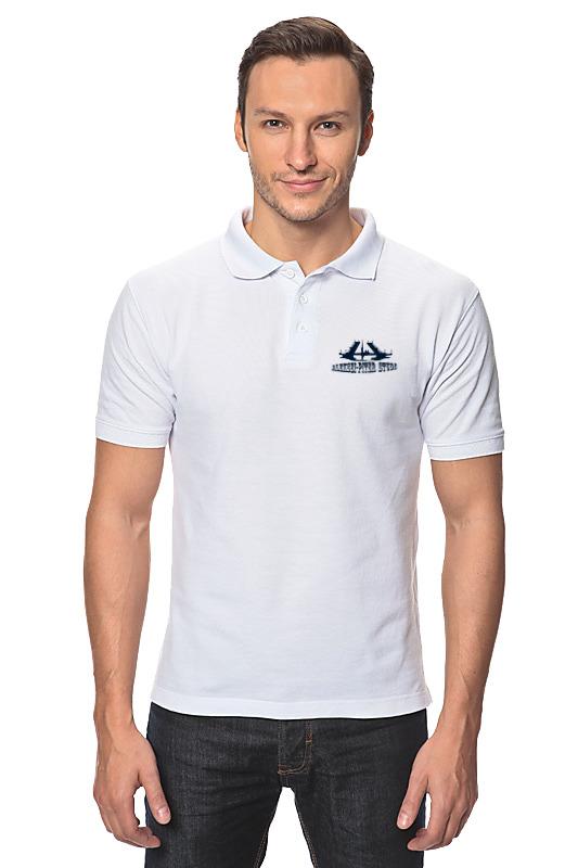 Рубашка Поло Printio Aleksei-piter studio (белая)