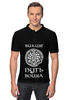 """Рубашка Поло """"Путь воина"""" - мифы, викинги, путь воина, скандинавы, норды"""