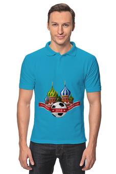 """Рубашка Поло """"Футбол"""" - футбол, спорт, мяч, 2018"""