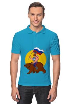 "Рубашка Поло ""Футбол"" - футбол, спорт"