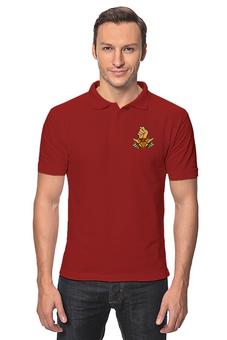 """Рубашка Поло """"Денег нет"""" - мем, настроение, медведев, фига, держитесь"""