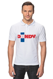 "Рубашка Поло ""Дэнди"" - дэнди, данди, dandy, english, англия"