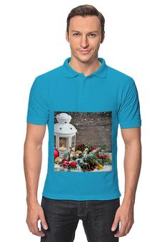 """Рубашка Поло """"Christmas"""" - праздник, новый год, рождество"""