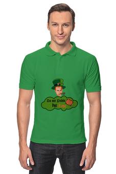 """Рубашка Поло """"Do not politic but Love"""" - stpatricksday, деньсвятогопатрика, вятойпатрикпраздник, зеленаяфутболкаденьсвятогопатрика, зеленаяфутболкаирландская"""
