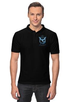 "Рубашка Поло ""Team Mystic"" - мультфильм, pokemon, покемон, мистик, mystic"