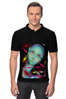 """Рубашка Поло """"Малиновое ожерелье."""" - бусы, лицо, стиль"""