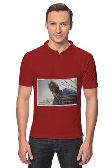 """Рубашка Поло """"Афиша к фильму """"Александр Невский"""", 1938 г."""" - ссср, плакат, афиша, эйзенштейн"""
