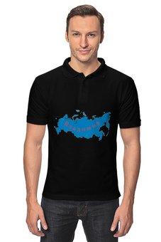 """Рубашка Поло """"Владимир"""" - владимир, имена, знаки символы"""