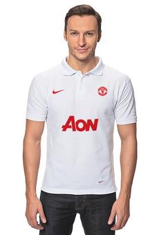 "Рубашка Поло ""Manchester United Nike"" - в подарок"