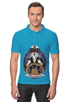 """Рубашка Поло """"Собака"""" - собака, капитан"""