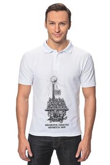 """Рубашка Поло """"новые идеи!"""" - идеи, слоны"""