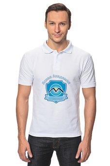 """Рубашка Поло """"Ясная Академия с 1998"""" - олег матвеев, аяк, аяк2019"""