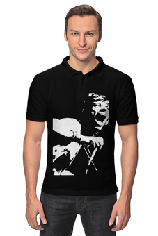 "Рубашка Поло ""The Rolling Stones"" - арт, стиль, рисунок, rolling stones, мик джаггер"
