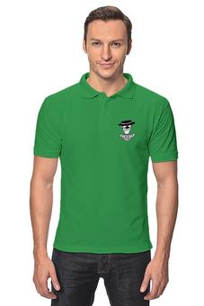 """Рубашка Поло """"с.л.г.э"""" - юмор"""