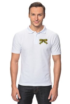 """Рубашка Поло """"Георгиевская ленточа"""" - день, лента, 9мая, победы, георгиевская"""