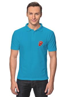"Рубашка Поло ""Rolling T-Shirt/Polo"" - арт, поло, rolling stone"