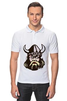 """Рубашка Поло """"Викинг"""" - арт, воин, драки, тор, викинги"""