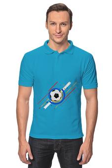 """Рубашка Поло """"Футбол"""" - футбол, спорт, мяч"""