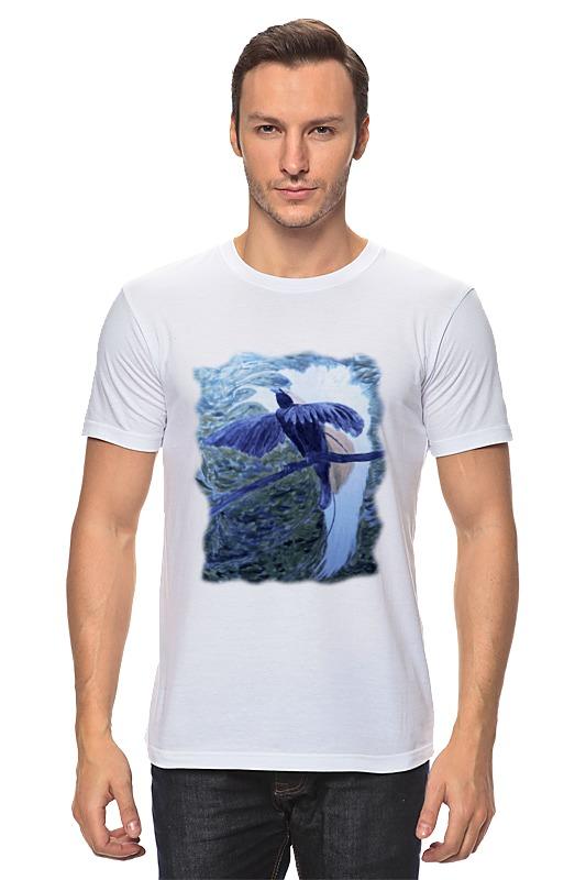 Футболка классическая Printio Птица фэнтези футболка классическая printio малая райская птица