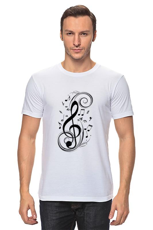 Printio Скрипичный ключ hatber тетрадь для нот скрипичный ключ 24 листа