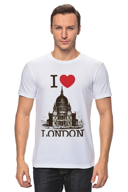 Футболка классическая Printio I love london manon london london