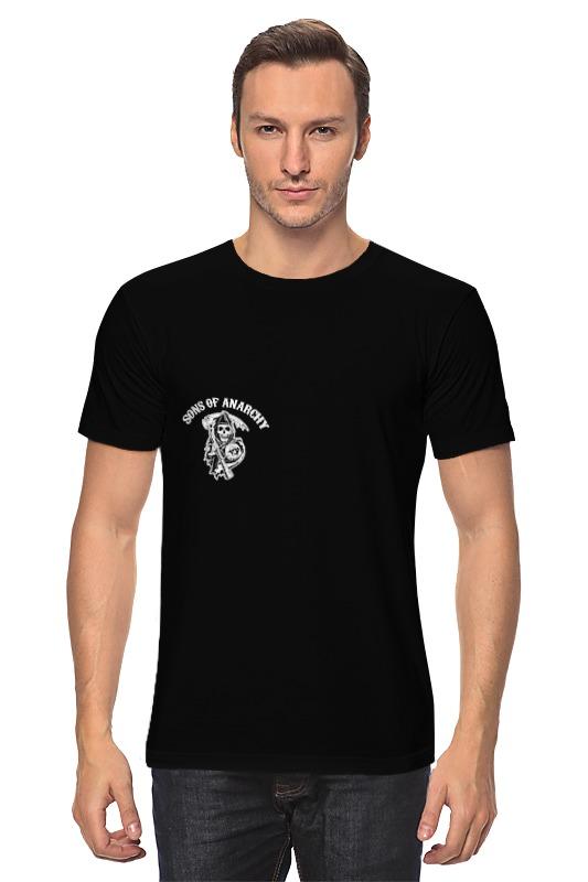 Футболка классическая Printio Sons of anarchy майка классическая printio sons of anarchy t shirt