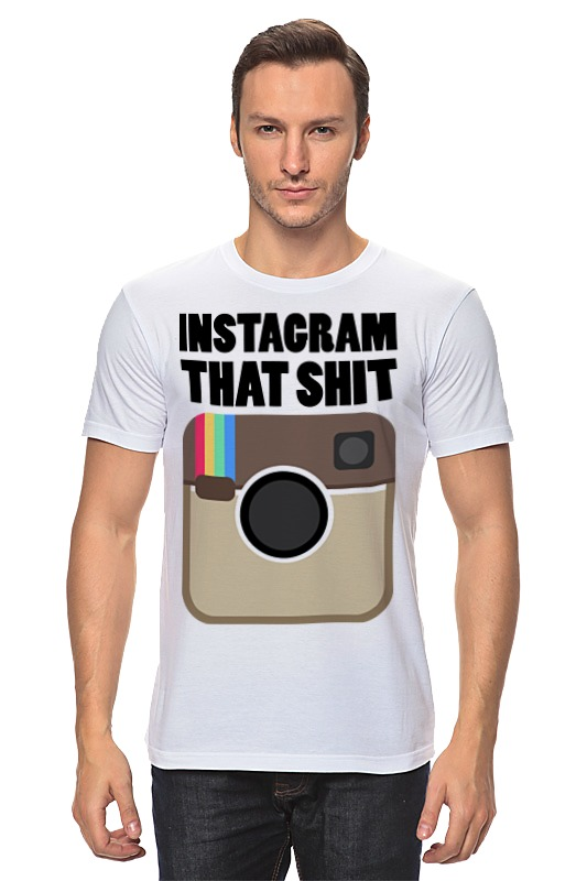 Футболка классическая Printio Instagram футболка классическая printio instagram