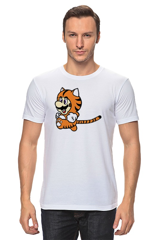 Футболка классическая Printio Марио тигр