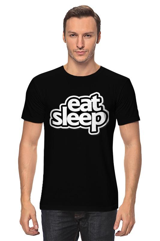 Футболка классическая Printio Eat sleep eat dirt