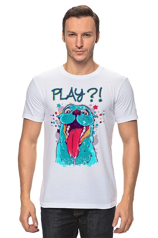 Футболка классическая Printio Play? майка классическая printio play