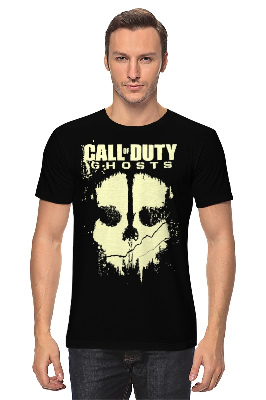 Футболка классическая Printio Call of duty ghosts sea of ghosts