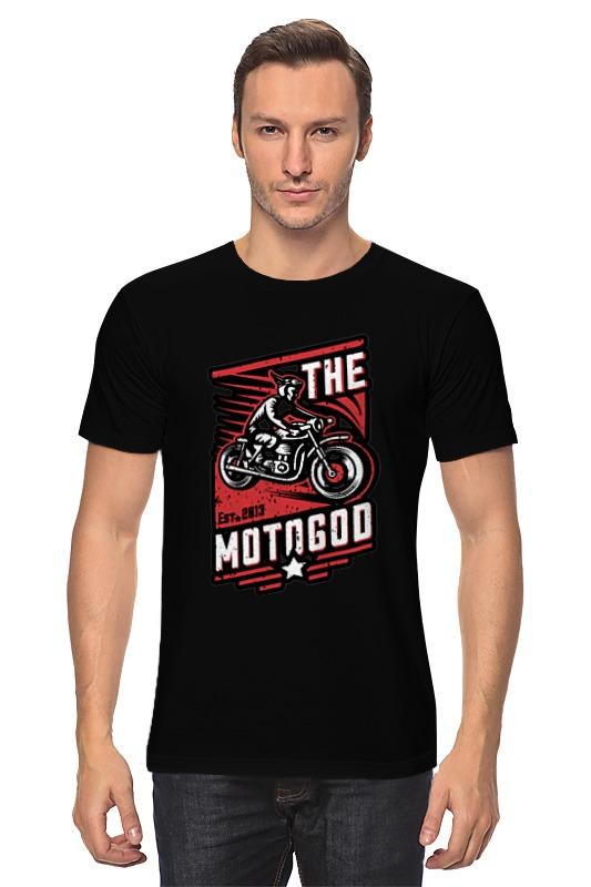 Футболка классическая Printio The motogod цена