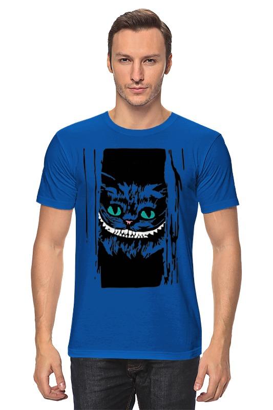 Футболка классическая Printio Чеширский кот (алиса в стране чудес) футболка классическая printio кот базилио и лиса алиса