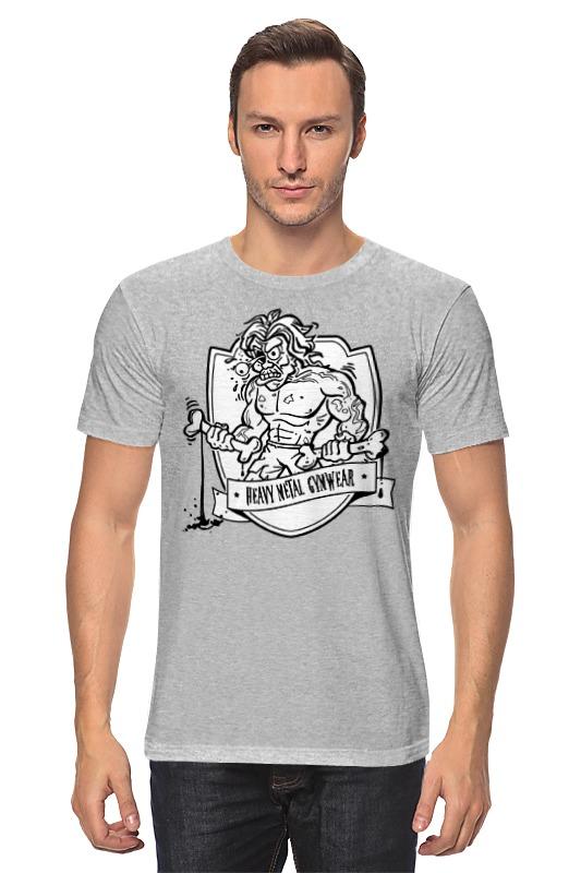 Футболка классическая Printio Heavy metal gymwear ñ'ð¾ð ññ'ð¾ð²ðºð° wearcraft premium ñƒð½ð¸ñðµðºñ printio heavy metal gymwear