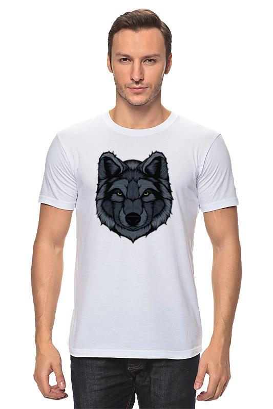 Фото - Футболка классическая Printio Волк (wolf) футболка print bar night wolf