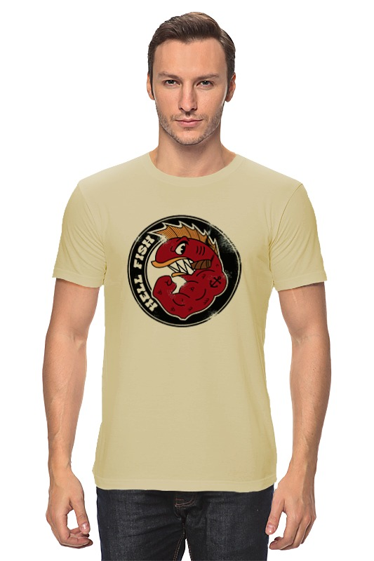 Футболка классическая Printio Злой окунь футболка классическая printio злой колдун