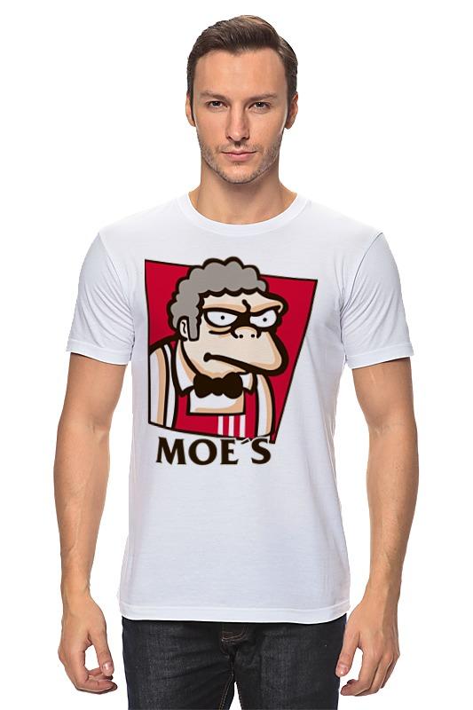 Футболка классическая Printio Мо (симпсоны) футболка moe футболка