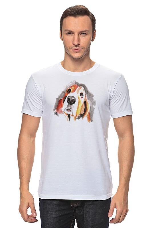 Футболка классическая Printio Футболка с собачкой printio футболка стрэйч